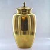 """10"""" Urn W/ Antique Brass Finish"""
