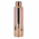 Leak Proof Yoga Solid Copper Water Bottle 28oz
