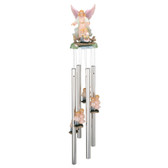 """Guardian Angel Round Top Chime, 23""""L GS41645"""