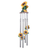 """Sunflowers Round Top Chime, 23""""L GS41805"""