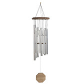 """Traditional Steel & Wooden Wind Chime,  35""""L GS31038"""