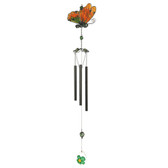 Metal & Gem Butterfly CHIME B FLY 28""