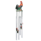 """Rooster Round Top Chime, 23""""L GS41537"""