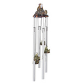 "Frog & Turtle Round Top Chime, 23""L GS41954"