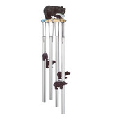 "Black Bear Round Top Chime, 23""L GS41634"