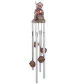"""Indian Chief Round Top Chime, 23""""L GS41964"""