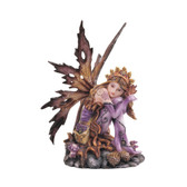 "Autumn Fairy With Pinecones, Brown 6"" GS91469"