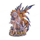 "Autumn Fairy, Yellow/Blue 6""H GS91473"