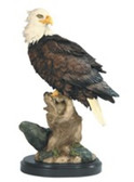 "Eagle Foraging 15""H GS54248"