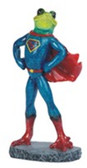 "Frog, Blue W/Red Cape 8""H GS61175"