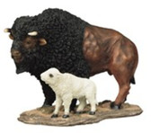 """Buffalo With Baby, 7""""H GS54016"""