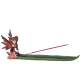 "Fairy Incense Burner, Red 13""W GS91266"
