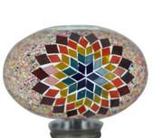 Turkish Mosaic Lamp Shade - B3 - Rainbow - Style 2