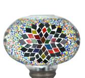 Turkish Mosaic Lamp Shade - B3 - Rainbow - Style 3