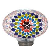 Turkish Mosaic Lamp Shade - B3 - Rainbow - Style 4