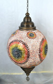 Giant Turkish Mosaic Lamp