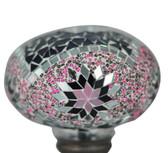 Turkish Mosaic Lamp Shade - B3 - Purple - Style 1