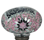 Turkish Mosaic Lamp Shade - B3 - Purple - Style 1