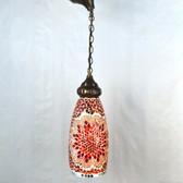 Bar Style Cone Mosaic Lamp