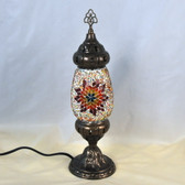 Egg Shape Mosaic Table Lamp