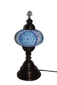 "Turkish Mosaic Table Lamp -  9""x22"" - MB4"