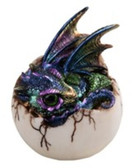 "4"" Purple Dragon Egg GS71758"