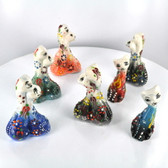 Small Nimet Porcelain Kissing Kittens (Assorted Colors & Patterns)