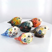Small Nimet Porcelain Bird (Assorted Colors & Patterns)