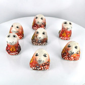 Small Nimet Porcelain Puppy (Assorted Colors & Patterns)