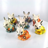 Small Nimet Porcelain Rabbit (Assorted Colors & Patterns)
