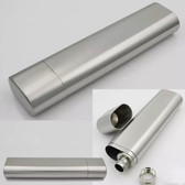 High Grade Stainless Steel Cigar Holder / 2oz Flask