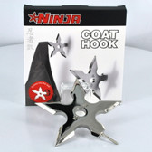 Chinese Throwing Star Coathanger
