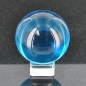 Aqua Crystal Ball W/ Base CR7114 60LMM