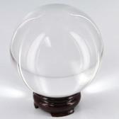 100MM Quartz Crystal Ball w/ Stand