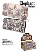 Elephant Womens Wallet Assorted