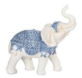 """6"""" Blue/White Thai Elephant 88223"""