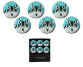 Magnets-Wolf 6pc Set 22054