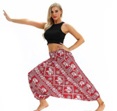 Red Elephant Lantern Harem Pants (One Size) YCL040
