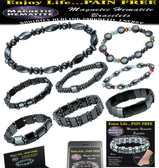Magnetic Hematite Bracelets (Assorted Styles)