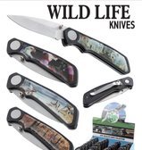 Wild Life Knife (Assorted Styles)