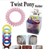 Twist Pony Holder Hair Accessories (Assorted Styles)