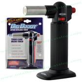 Big Buddy Butane Torch Black
