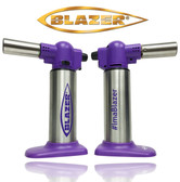 Blazer Big Buddy Turbo Torch, Purple & Silver