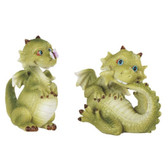 "3 1/2"" Cutie Dragon with Butterfly 2 pc Set GS71852"