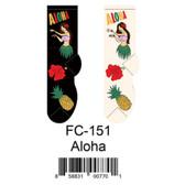 Aloha Foozys Womens Socks FC-151