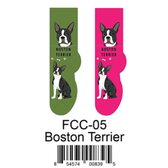 Boston Terrier Foozys Unisex Dog Socks FCC-05