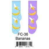 Bananas Foozys Womens Socks FC-36