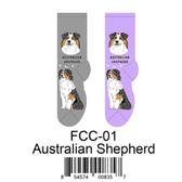 Australian Shepherd Foozys Unisex Dog Socks FCC-01