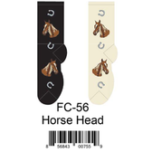 Horse Head Foozys Womens Socks FC-56