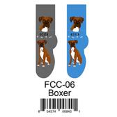 Boxer Foozys Unisex Dog Socks FCC-06